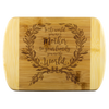 To The World You Are A mother To Your Family You Are The World Wood Cutting Boards - Nichefamily.com