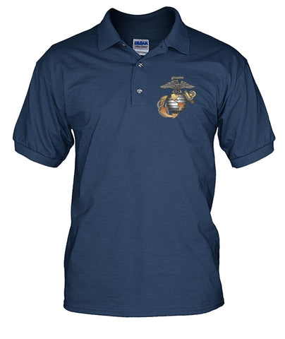 MARINES CORPS, PROUD TO HAVE SERVED, SINCE 1775 polo shirt wp Short Sleeves - Nichefamily.com