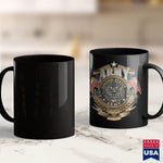Air Force Coffee Mug Original Bubba Army Logo Blk  Official Bubba Army Design  Khaki Military Shirt 11Oz 15Oz Coffee Mug Drinkware Army Aviation, Army Bed, Army Blanket, Army Caps, Army Car,