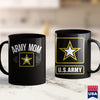 American Coffee Mugs Army Mom   Army T Shirt Designs 11Oz 15Oz Coffee Mug Drinkware Arab Tea, Army Aviation, Army Bed, Army Eod, Army Flag, Army Pjs, Army Shovel, Army Travel, Army Watch, Arm