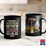 Arab Men Supporting My Nephew As He Serves  Proud Army Aunt Gift  Army Ranger Clothes 11Oz 15Oz Coffee Mug Drinkware Army Acu, Army Bct, Army Caps, Army Coins, Army Dad, Army Eod, Army Poster