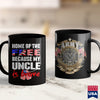 Arai Gp6 My Uncle Is Brave Home Of The Free  Proud Army Niece Nephew  Green Army Shirt 11Oz 15Oz Coffee Mug Drinkware Army Acu, Army Coffee, Army Coins, Army Dad, Army Eod, Army Posters, Army