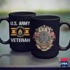 Army Abu Proudly Served Us Army Veteran E6 Staff Sergeant  Military Clothing For Men 11Oz 15Oz Coffee Mug Drinkware Army Apparel, Army Fabric, Army Gifts, Army Officer Insignia, Army Suit, Ar
