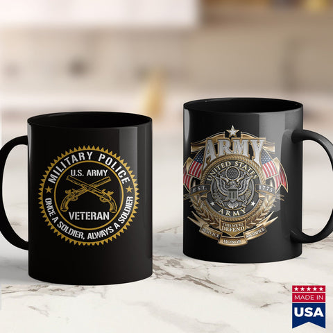 Army Bdu Military Police Us Army Veteran Once A Soldier Always Gift  Army Green Tee Shirts 11Oz 15Oz Coffee Mug Drinkware Army Apparel, Army Bct, Army Bmi, Army Coin Holder, Army Commendation