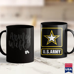 Army Bmi Army Wife   5 Colors  Army Wife S Kids Army Shirt 11Oz 15Oz Coffee Mug Drinkware Army Car, Army Coffee Mugs, Army Commendation Medal, Army Enlisted, Army Medals, Army Rings, Army Shi