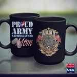 Army Car Proud Army National Guard Mom Usa Hear Mothers Day Army Pants 11Oz 15Oz Coffee Mug Drinkware Army Car, Army Coffee Mugs, Army Dad, Army License Plate, Army Prt, Army Shirts, Navy Cof