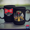 Army Flag Red Ribbon Army Tees  Black Army Shirt 11Oz 15Oz Coffee Mug Drinkware Army Cups, Army Guy, Army Navy, Army Nco, Army Officer Insignia, Army Stuff, Army War, Navy Mugs, Us Army Cante
