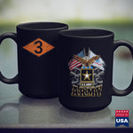 Army Guy Vintage Third 3Rd Ranger Battalion Diamond Army Ranger  Army Wife Shirts 11Oz 15Oz Coffee Mug Drinkware Army Acu, Army Bag, Army Caps, Army Clothing, Army Cups, Army Erb, Army Gear,