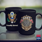 Army Hoodie Proudly Served Veteran Army Cpl  Army Brown T Shirt 11Oz 15Oz Coffee Mug Drinkware Arab Tea, Arab Tee, Army Bag, Army Commendation Medal, Army Erb, Army Jackets, Army Law, Army Pf