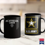 Army Merchandise Army Special Forces  De Oppresso Liber  Army Shirts Walmart 11Oz 15Oz Coffee Mug Drinkware Air Force Coffee Cups, Army Aviation, Army Badge, Army Bdu, Army Bed, Army Blanket,