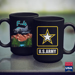 Army Navy Army Supersonic Jet Military Armed Forces Fighterbomber  Cool Military Shirts 11Oz 15Oz Coffee Mug Drinkware Air Force Mug, Arab Men, Army Aviation, Army Challenge Coin, Army Pjs, A