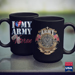 Army Navy I Love My Army Veteran  Patriotic Men Women Army Surplus Store 11Oz 15Oz Coffee Mug Drinkware Air Force Mug, Arai Gp6, Army Aviation, Army Bdu, Army Challenge Coin, Army Pjs, Army P
