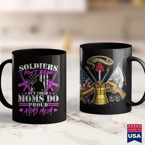 Army Patches Soldiers Dont Brag But Moms Do  Proud Army Mom Mother Gift  Military Style T Shirts 11Oz 15Oz Coffee Mug Drinkware Army Cid, Army Clothing, Army Cups, Army Gear, Army Medals, Arm