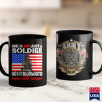 Army Pjs My Granddaughter Is A Soldier Promilitary Proud Army Granny  Custom Military T Shirts 11Oz 15Oz Coffee Mug Drinkware Air Force Coffee Mug, Army Ako, Army One, Army Pins, Army Recruit