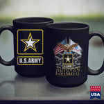 Army Soldier U.S. Army Gift Military White Yellow Star Proud Usa Merch  Army Gear 11Oz 15Oz Coffee Mug Drinkware Arab Men, Army Blanket, Army Frg, Army Insignia, Army Nvg, Army Pay, Army Pft,
