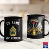 Army Toy Retired Army Sergeant First Class Military Veteran  Army Brown T Shirt 11Oz 15Oz Coffee Mug Drinkware Army Bag, Army Belt Buckle, Army Erb, Army Nco, Army Officer Insignia, Army Rank