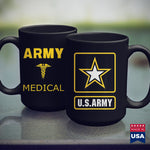 Army Tumbler Cup Army Medic Soldier Military  Salvation Army T Shirt 11Oz 15Oz Coffee Mug Drinkware Army Bag, Army Canteen, Army Coins, Army Infantry, Army Pay, Army Prt, Army Recruiting, Arm