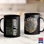 Army Vet Proud Army Dad United States Usa Flag Gift For Fathers Day  Navy Veteran Shirts 11Oz 15Oz Coffee Mug Drinkware Army Aviation, Army Canteen, Army Gifts, Army Infantry, Army Military P