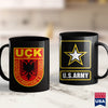 Army Water Bottle Albanian Kosovo Army  Uck Uqk Patriot Military Shirt Jackets 11Oz 15Oz Coffee Mug Drinkware Army Abu, Army Aviation, Army Bag, Army Gifts, Army Hoodie, Army Military Police,