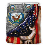 US NAVY AMERICAN FLAG BEDDING SET  US NAVY- Nichefamily.com