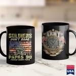 Dead Army Mens Soldiers Dont Brag  Proud Army Papa Military Grandpa Gift  Army Design Shirts 11Oz 15Oz Coffee Mug Drinkware Arab Tee, Army Coffee, Army Eod, Army Gifts, Army Hats, Army Milita