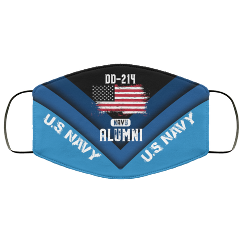 Us Navy Workout Us Navy Dd 214 Veteran American Dd214 Alumni Gift Face Mask Design Accessories - Nichefamily.com