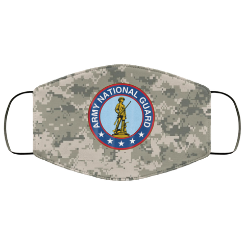 Army Infantry National Guard Army National Guard Apparel Face Mask Design Accessories - Nichefamily.com