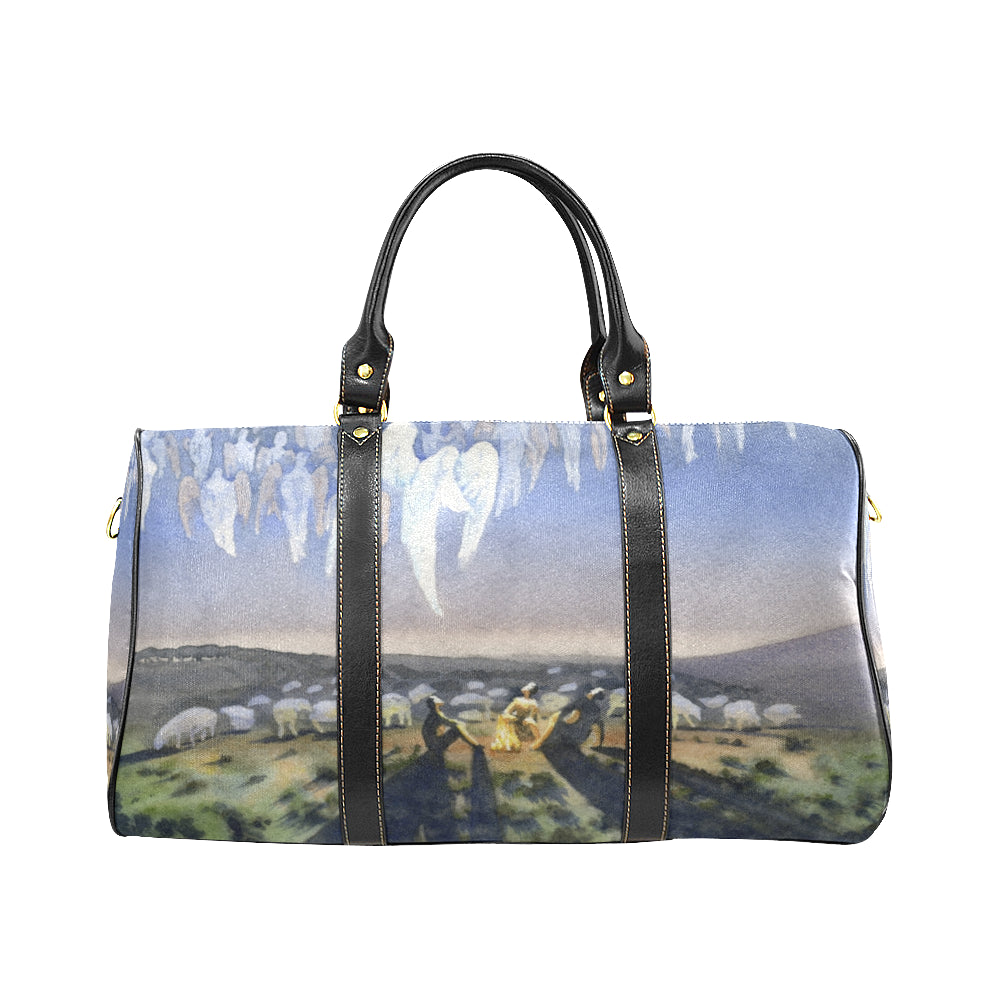 Heavenly host. The appearance of the angel to the shepherds travel bag
