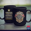Man Mug Mens Proud U.S. Army Dad Mens  Army Family Shirts 11Oz 15Oz Coffee Mug Drinkware 1St Army, Air Force Mug, Arab Tee, Army Cid, Army License Plate, Army Mos, Army Patches, Army Stuff, N