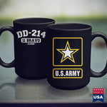 Mug Mat Dd214 Us Army 11 Bravo Alumni Vintage  Us Army Combat Shirt 11Oz 15Oz Coffee Mug Drinkware Arab Tee, Army Bmi, Army Caps, Army Cot, Army Fabric, Army Ribbons, Army Rings, Army Wallet,
