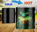 Owl heat changing color mugs magic mugs owl native american Mugs carthook_checkout, mug, mugs, native- Nichefamily.com