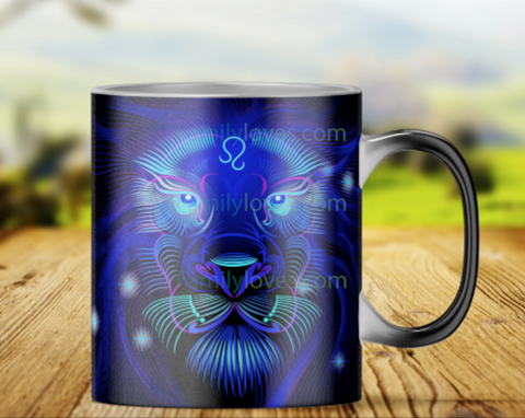 LEO magic mug heat changing color mugs Mugs carthook_checkout, leo, MUG, MUGS, zodiac- Nichefamily.com