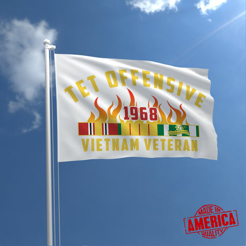 50th Anniversary of Tet Offensive WALL FLAG (Made in America) Flags carthook_checkout, FLAG, meta-relate-collection-u-s-navy-seals, meta-related-collection-air-force, meta-related-collection-