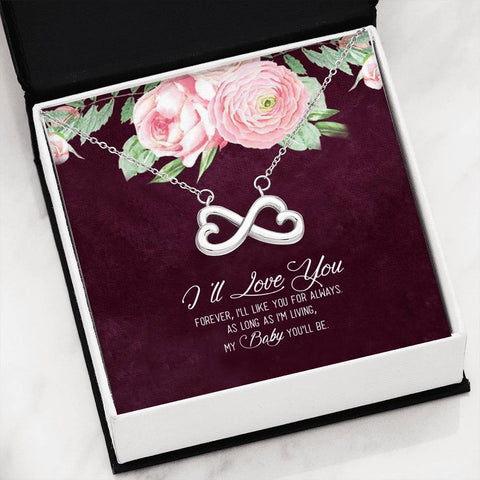 i'll love you forever, i'll like you for always. as long as i'm living, my baby you'll be. Jewelry - Nichefamily.com