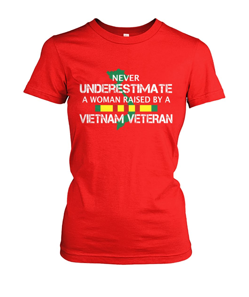 Never underestimate a woman raised by a vietnam veteran wp