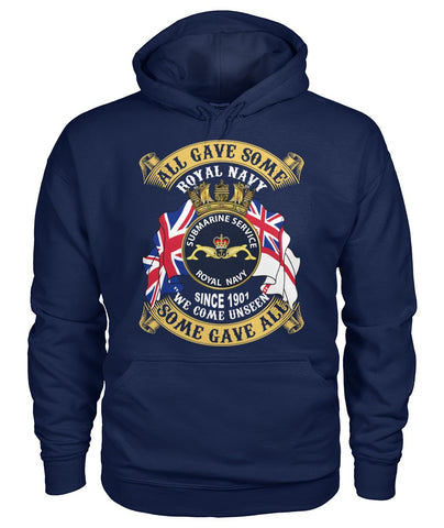Royal Navy Submarine Service, Since 1901, We Come Unseen wp Hoodies - Nichefamily.com