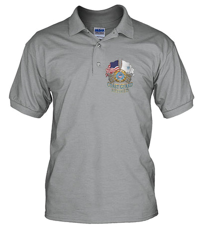 U.S.COAST GUARD RETIRED wp Short Sleeves - Nichefamily.com
