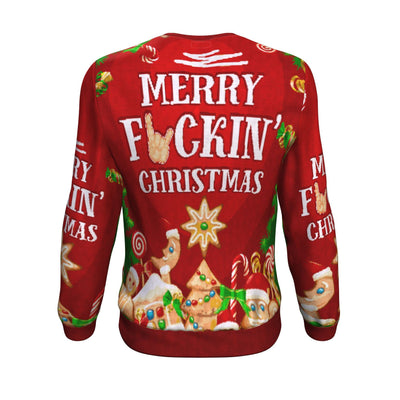 Buy Merry fuckin' ugly christmas sweater - Familyloves hoodies t-shirt jacket mug cheapest free shipping 50% off