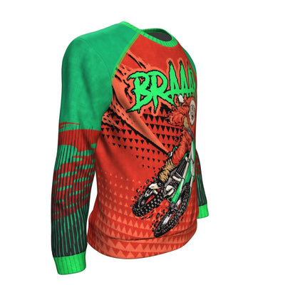 Buy BRAAAP ugly christmas sweater - Familyloves hoodies t-shirt jacket mug cheapest free shipping 50% off