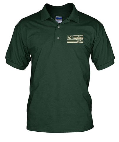 Being a veteran is an honor being a grandpa is priceless polo shirt wp Short Sleeves - Nichefamily.com