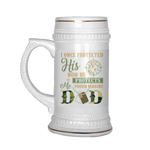 PROUD MARINE DAD BEER STEIN Drinkware beer stein, carthook_checkout, carthook_marine_embroidered, marine corps, MARINE DAD, meta-related-collection-marine-corps, veteran- Nichefamily.com