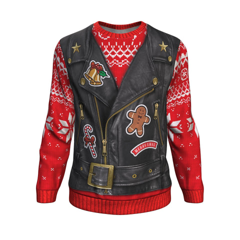Sons of Santa North Pole UGLY CHRISTMAS SWEATER Sweatshirt carthook_checkout, uglysweater- Nichefamily.com