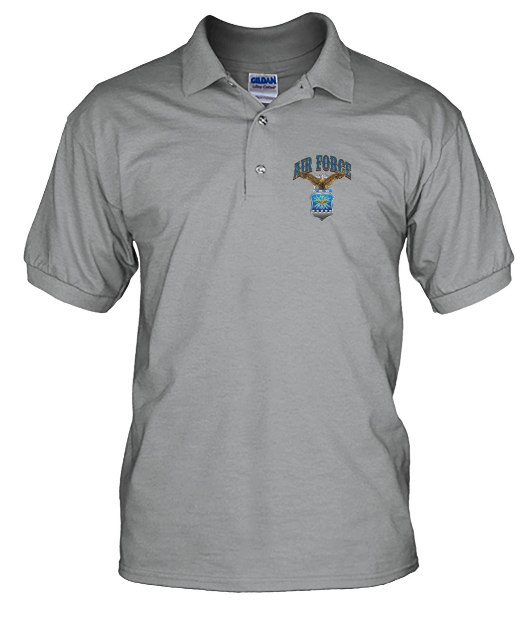 Air Force freedom is not free i paid for it U.S veteran polo shirt Men's Polo