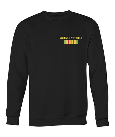 WE WERE THE BEST AMERICA HAD- Vietnam Veterans of America - Crew Neck Sweatshirt Long Sleeves - Nichefamily.com