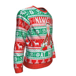 Namast'ay At Home UGLY CHRISTMAS SWEATER Sweatshirt carthook_checkout, uglysweater- Nichefamily.com