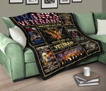 There comes a team after you are discharged… Quilt Blanket  - Nichefamily.com
