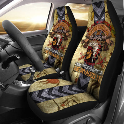 Celebrate national native ammerican day... car seat cover