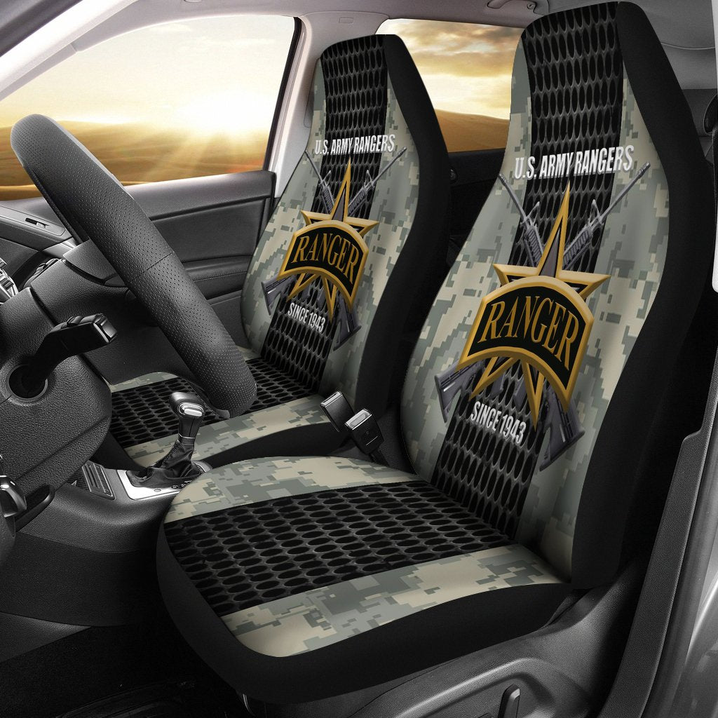 U.S Army Rangers since 1943 Car Seat Covers