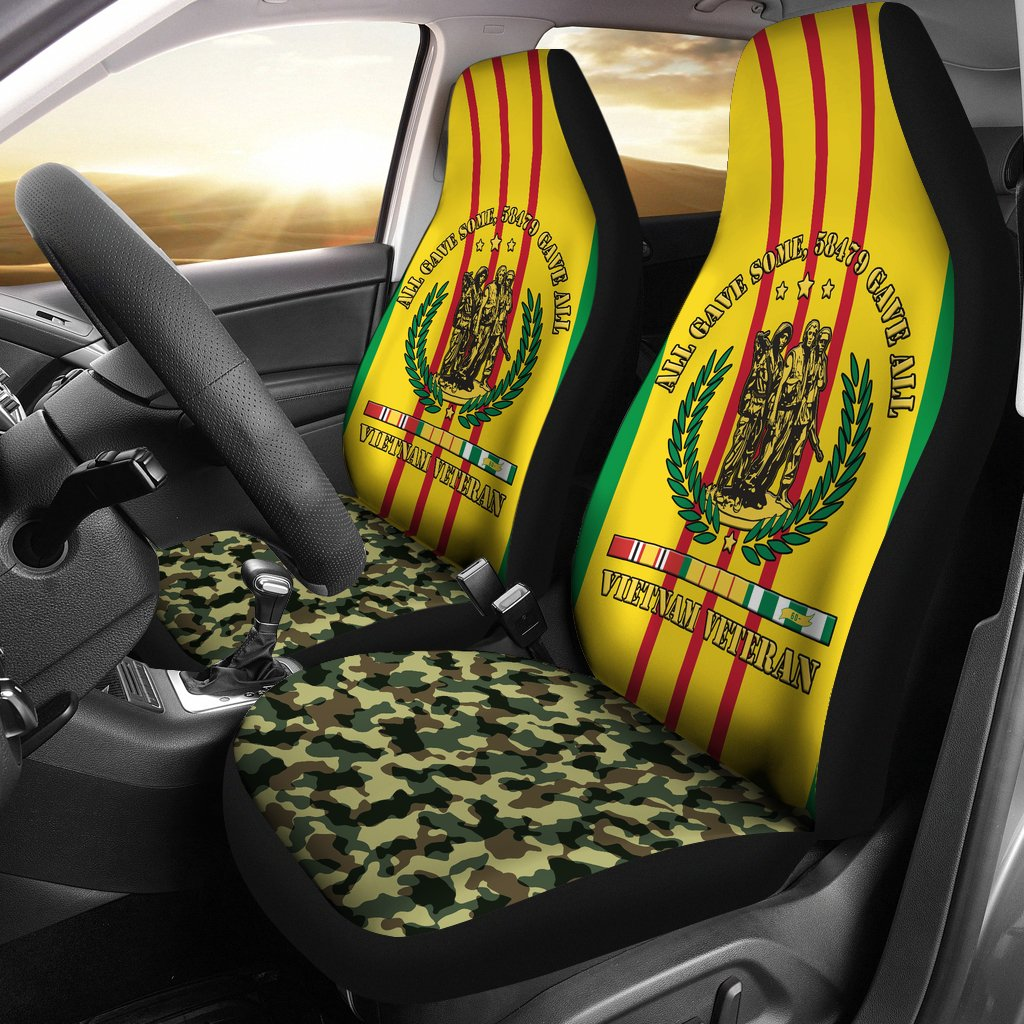 ALL GAVE SOME, 58479 GAVE ALL, VIETNAM VETERAN OF AMERICA CAR SEAT COVER