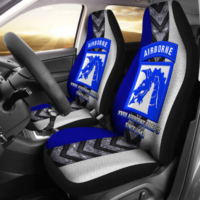 Buy XVIII Airborne Corps since 1942 Car Seat Covers - Familyloves hoodies t-shirt jacket mug cheapest free shipping 50% off